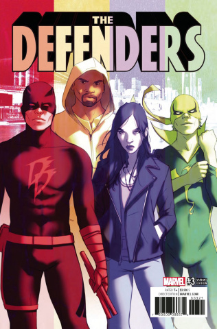 The Defenders #3 (Forbes Cover)