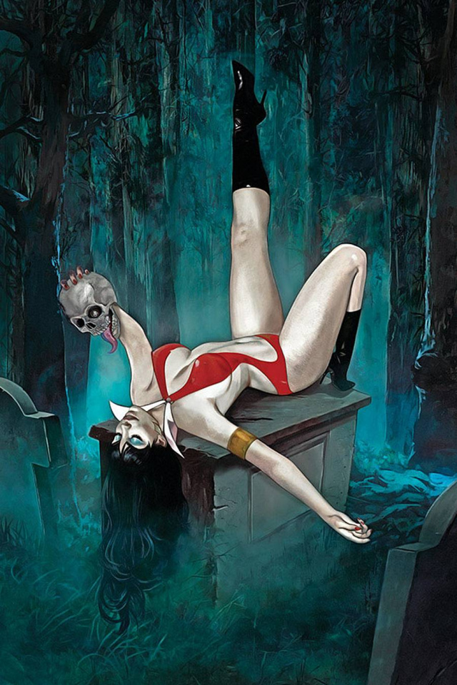 Vampirella #16 (Dalton Virgin Cover)