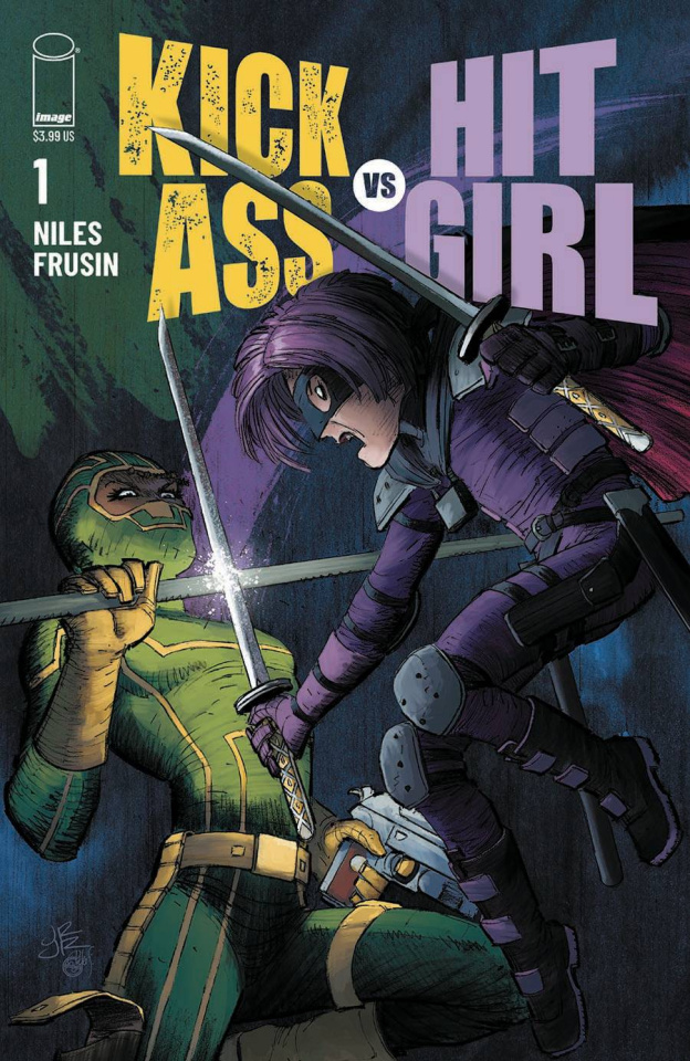 Kick-Ass vs. Hit-Girl #1 (Romita Jr Cover)
