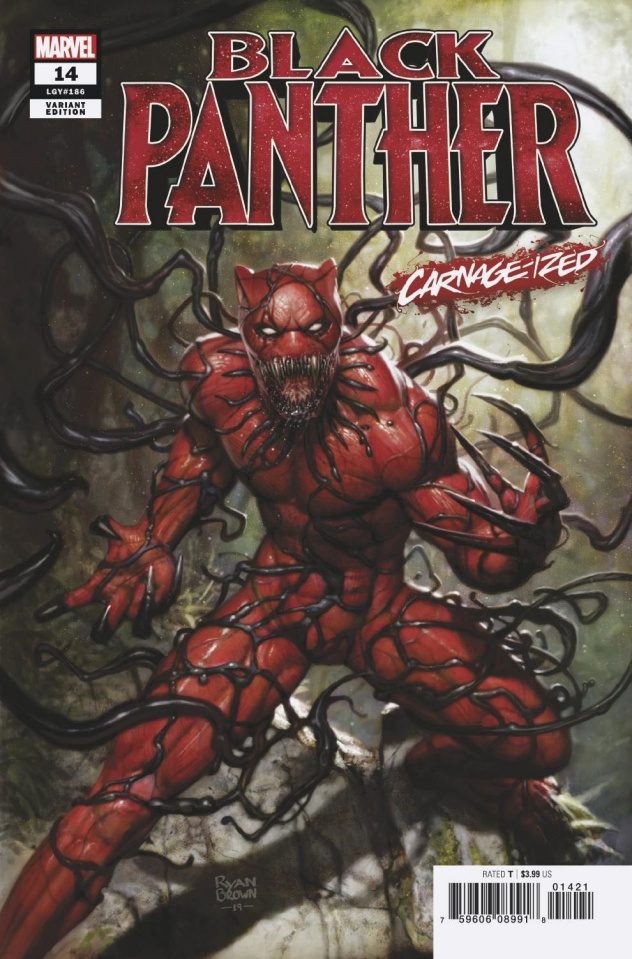 Black Panther #14 (Brown Carnage-ized Cover)