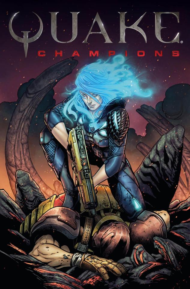 Quake: Champions #1 (Bettin Cover)