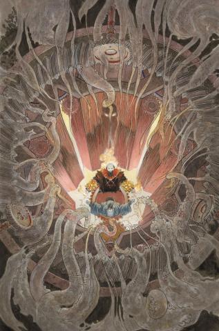 Rasputin: Voice of the Dragon #5 (Kaluta Cover)