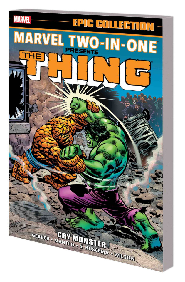 Marvel Two-in-One: Cry Monster (Epic Collection)