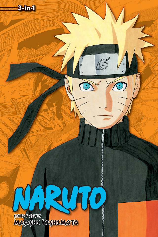 Naruto Vol. 15 (3-in-1 Edition)