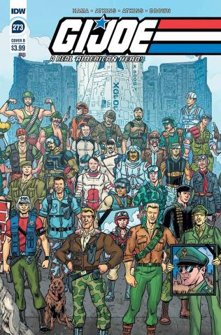 G.I. Joe: A Real American Hero #273 (Sullivan Cover)
