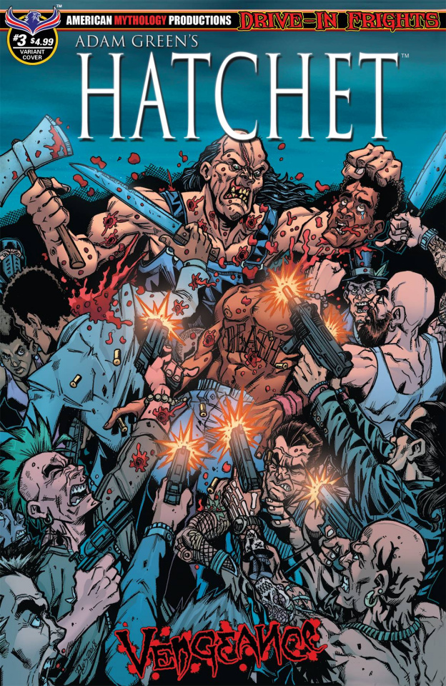 Hatchet: Vengeance #3 (Slaughter Calzada Cover)