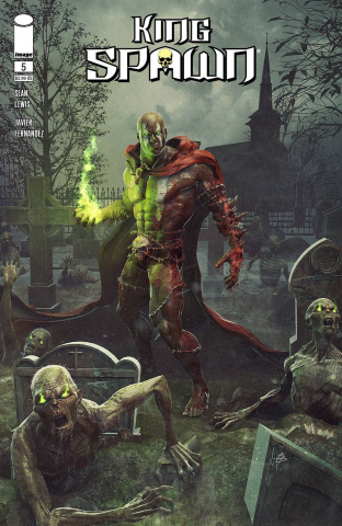 King Spawn #5 (Barends Cover)