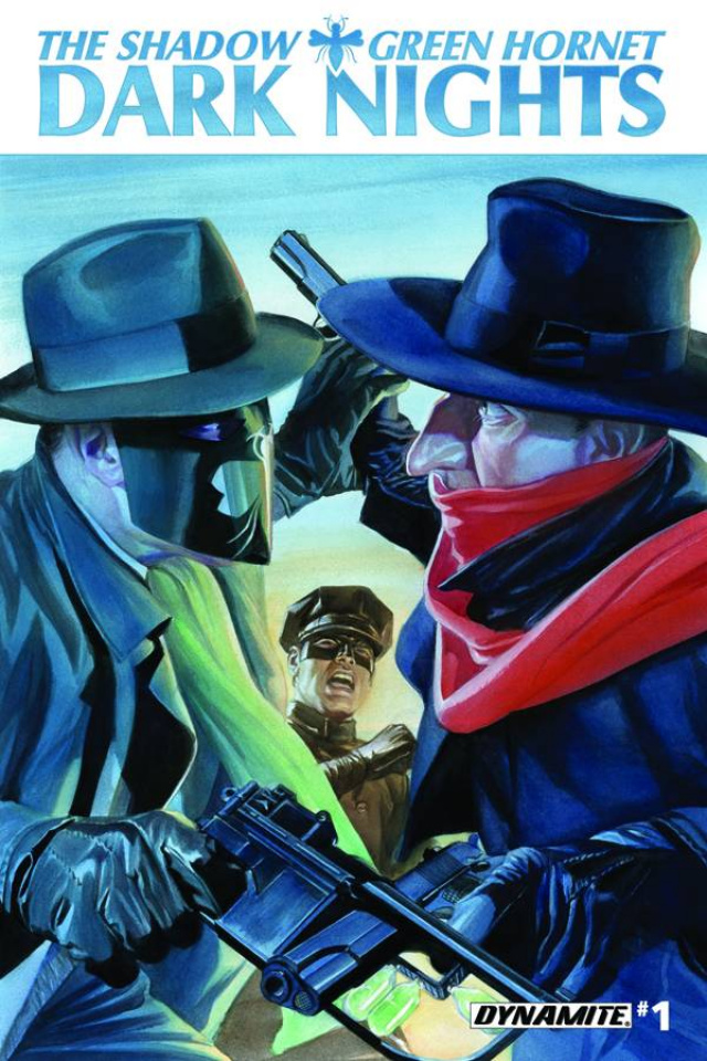 The Shadow / Green Hornet: Dark Nights #1 (Ross Cover)