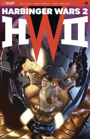 Harbinger Wars 2 #1 (Suayan Cover)