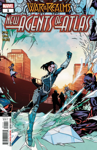 The War of the Realms: New Agents of Atlas #1 (3rd Printing)
