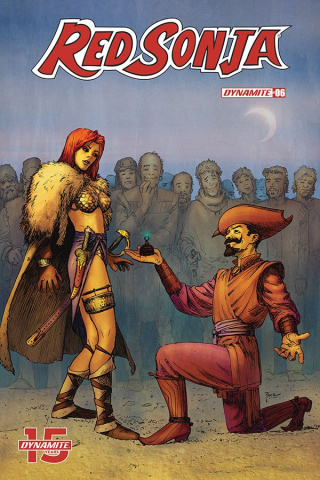 Red Sonja #6 (Pace Cover)