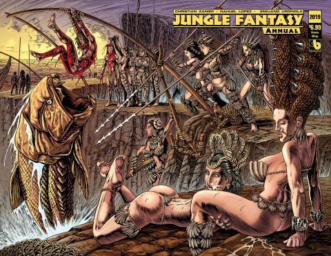 Jungle Fantasy Annual 2019 (Vixens Wrap Cover)