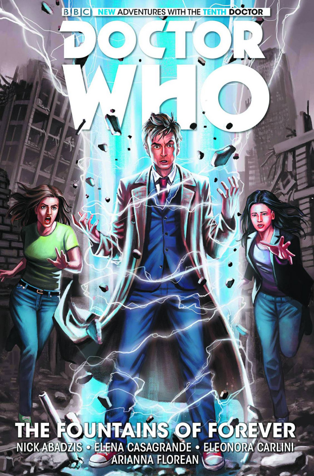 Doctor Who: New Adventures with the Tenth Doctor Vol. 3: The Fountains of Forever