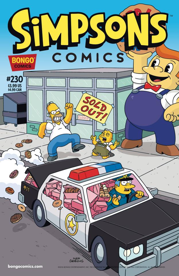Simpsons Comics #230