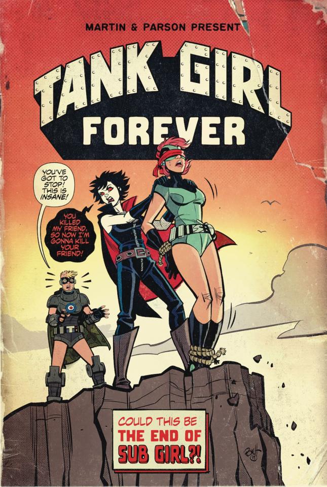 Tank Girl #7 (Parson Cover)