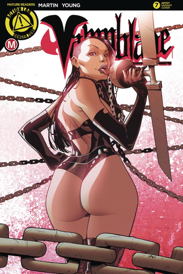 Vampblade #7 (Jaro Cover)