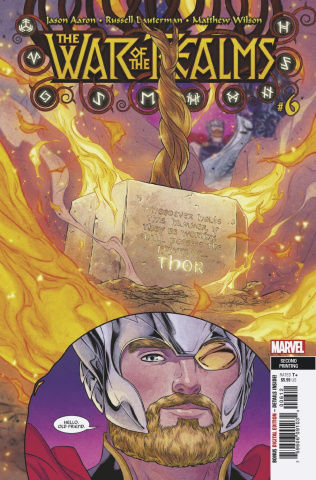 The War of the Realms #6 (Dauterman 2nd Printing)