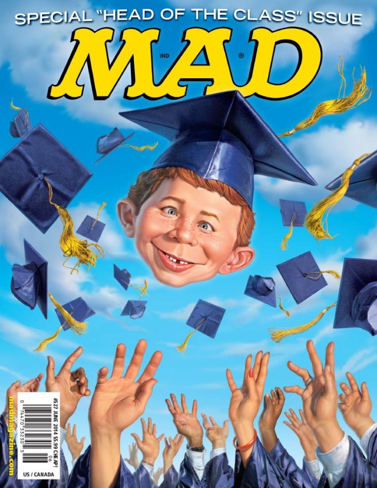 MAD Magazine #527
