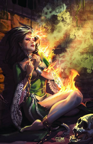 Grimm Fairy Tales Unleashed: Vampires - Eternal #1 (Ruffino Cover)