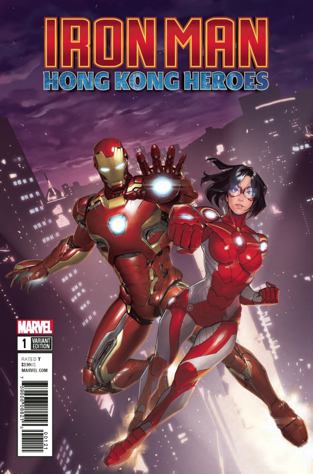 Iron Man: Hong Kong Heroes #1 (Gang Hyuk Lim Cover)