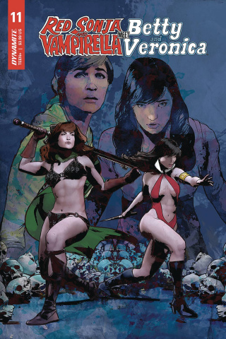 Red Sonja and Vampirella Meet Betty and Veronica #11 (Staggs Cover)