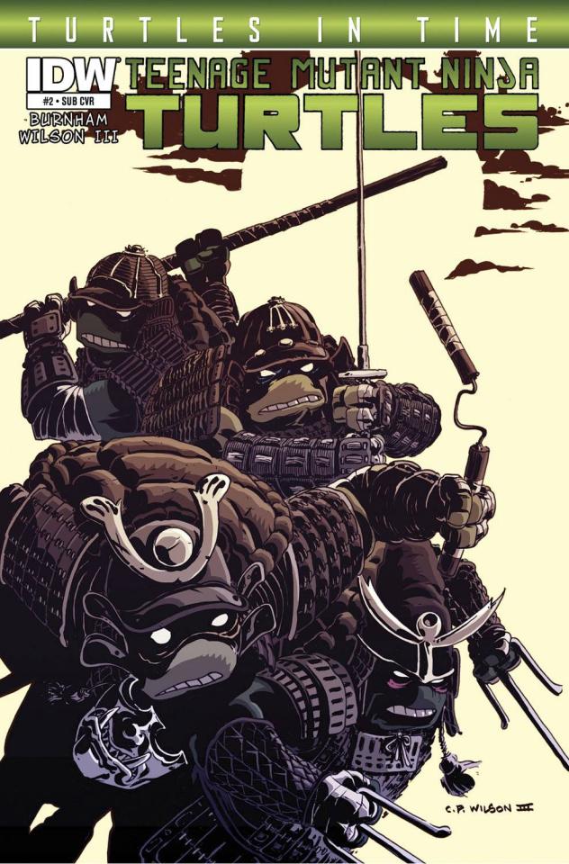 Teenage Mutant Ninja Turtles: Turtles in Time #2 (Subscription Cover)