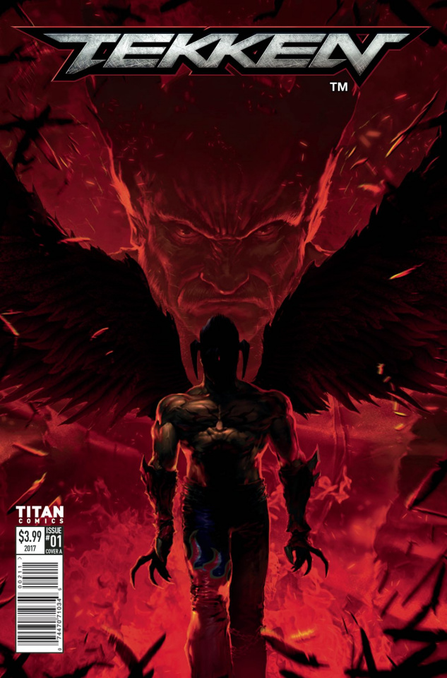 Tekken #1 (Anton K Cover)