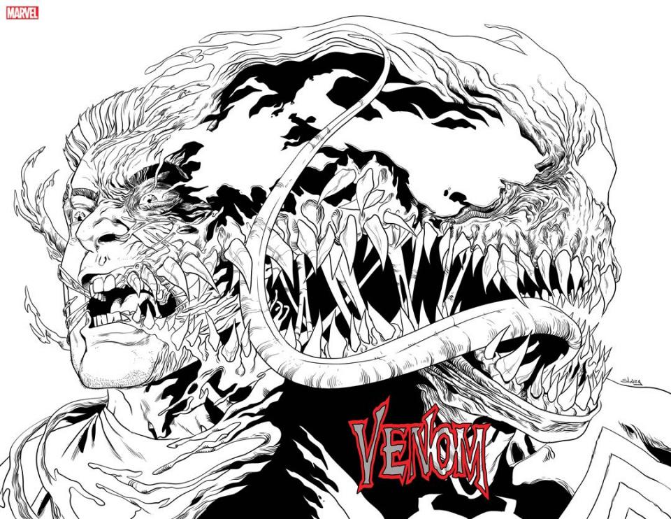 Venom #18 (Sliney Immortal Wrapped Cover)