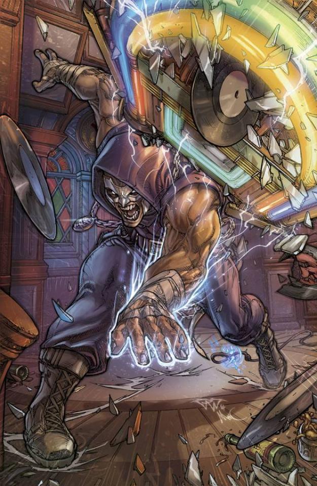 Grimm Fairy Tales: Godstorm - Hercules Payne #3 (Pantalena Cover)