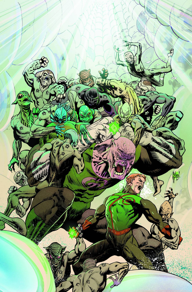 Green Lantern: The Lost Army #4