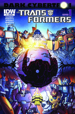 The Transformers: Dark Cybertron #1 (Subscription Cover)