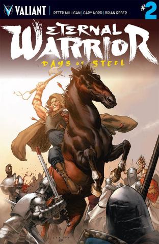Eternal Warrior: Days of Steel #2 (Larosa Cover)