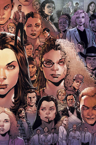 Orphan Black #3 (Subscription Cover)