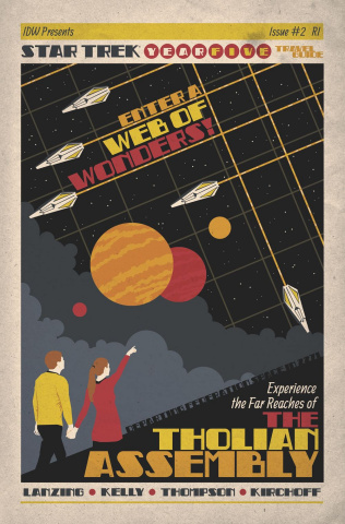 Star Trek: Year Five #2 (10 Copy Lendl Cover)