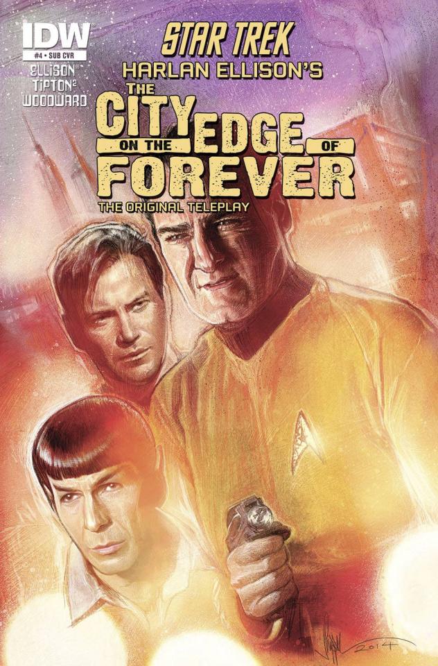 Star Trek: The City on the Edge of Forever #4 (Subscription Cover)