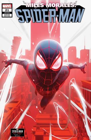 Miles Morales: Spider-Man #21 (Schumacher Morales Cover)