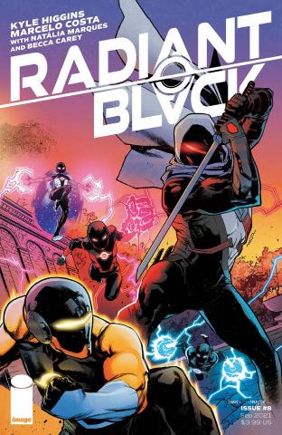 Radiant Black #8 (Watanabe Cover)