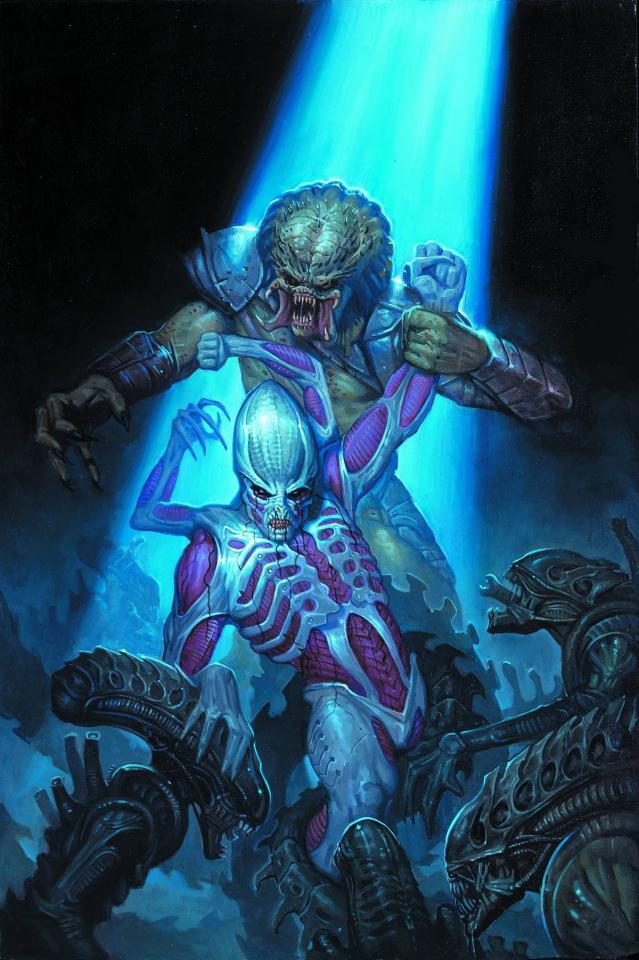 Alien vs. Predator: Fire and Stone #4