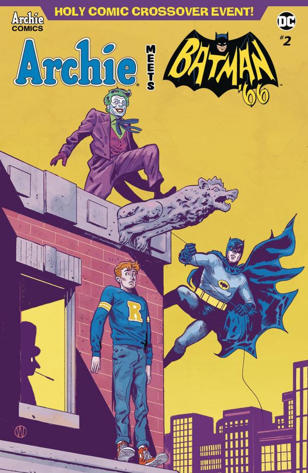 Archie Meets Batman '66 #2 (Walsh Cover)