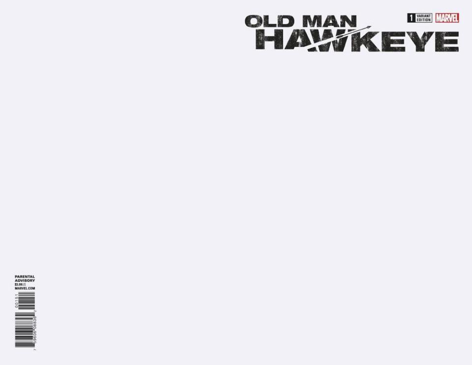 Old Man Hawkeye #1 (Blank Cover)