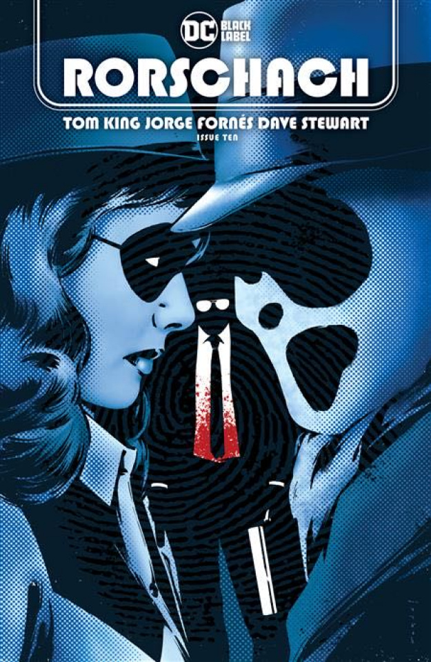 Rorschach #10 (Jorge Fornes Cover)