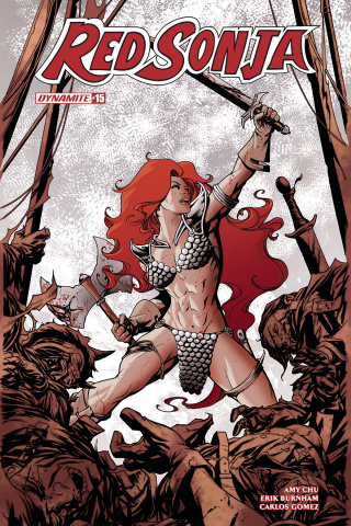 Red Sonja #15 (McKone Cover)