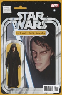 Star Wars: Darth Vader #1 (Christopher Action Figure Cover)