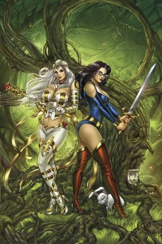 Grimm Fairy Tales vs. Wonderland #2 (Krome Cover)