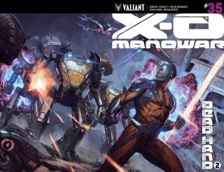 X-O Manowar #35 (Molina Cover)