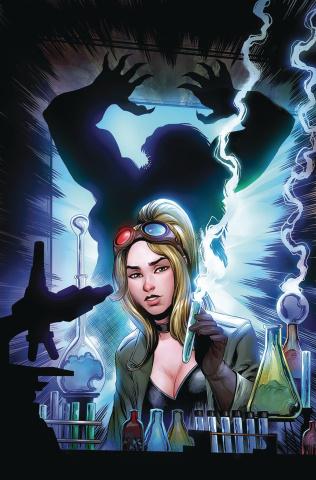 Van Helsing vs. Dracula's Daughter #4 (Otero Cover)