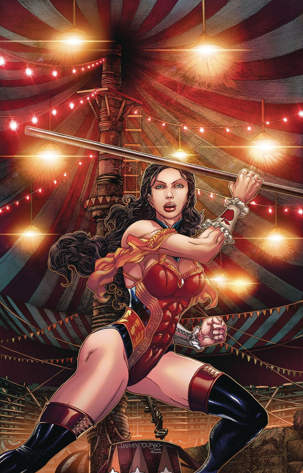 Grimm Fairy Tales #27 (Tolibao Cover)