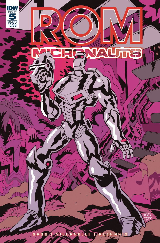 ROM & The Micronauts #5 (Lewis Cover)