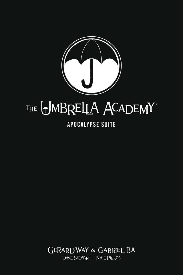 The Umbrella Academy Vol. 1: Apocalypse Suite (Library Edition)