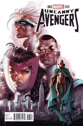 Uncanny Avengers #3 (Deodato Cover)